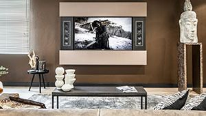 Architect Frame, un cadre sonore pour téléviseur, par Bowers & Wilkins