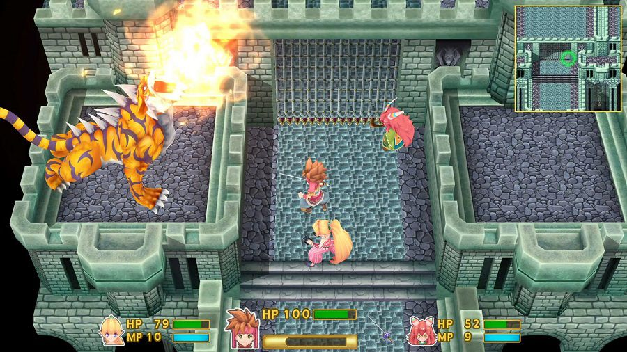 Secret of Mana remake 3D View