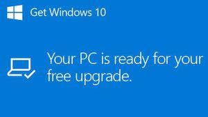 Avant de télécharger une mise à niveau, Windows demandera votre accord