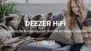 Deezer étend son offre d'abonnement en qualité CD