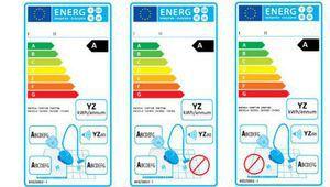 L'étiquette énergie des aspirateurs évolue aujourd'hui