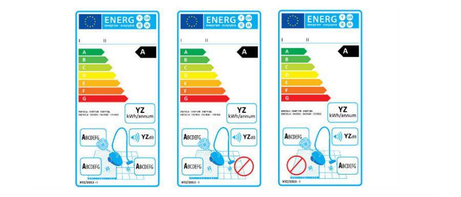 Actu aspirateurs etiquette energie