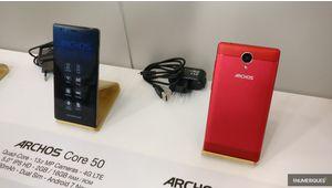 """IFA 2017 – Archos présente son smartphone Core 50 et 2 tablettes 10"""""""