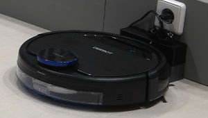 IFA 2017 – La riche appli de l'aspirateur-robot Ecovacs OZMO 930