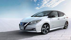 Nissan Leaf 2018: 378 kilomètres d'autonomie
