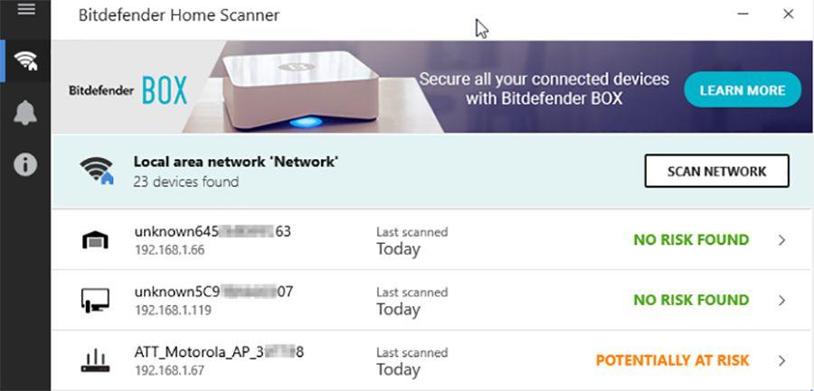 Bitdefender lance Home Scanner, pour protéger ses objets connectés