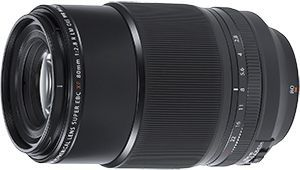 Fujinon XF 80 mm f/2,8 LM OIS WR Macro : rapport 1:1 pour X-Trans III