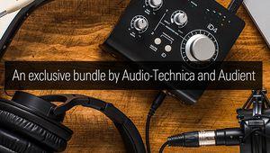 Bon plan – Audio Technica s'associe à Audient pour un bundle à -65%