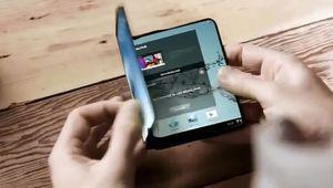 Samsung espère sortir un smartphone avec écran pliable en 2018