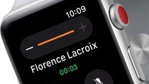 Quand l'Apple Watch Series 3 a du mal avec la 4G