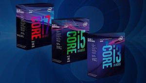 Intel Core 8e Gen desktop: c'est officiellement la fête des cœurs