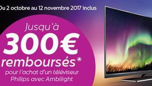Bon plan – Jusqu'à 300€ remboursés sur certains téléviseurs Philips