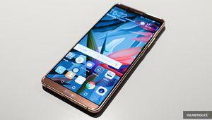 Premier contact avec le Huawei Mate 10 Pro