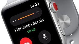 La fin des problèmes de réseau pour l'Apple Watch Series 3?