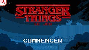 Stranger Things: un jeu mobile à la mode rétro