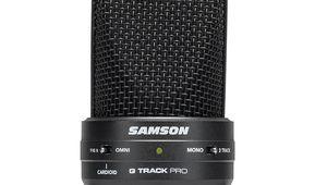 G-Track Pro: le microphone USB tout-en-un par Samson