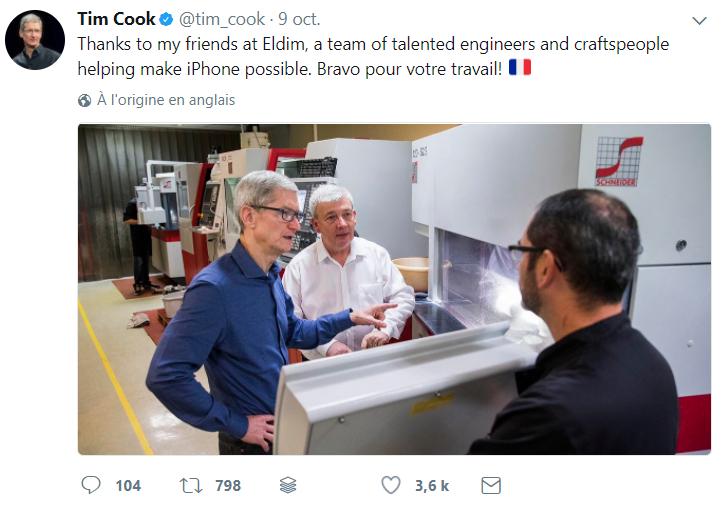 Eldim, la PME française qui se cache derrière l'iPhone X d'Apple