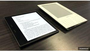 """Amazon Kindle Oasis: une liseuse 7"""" étanche"""