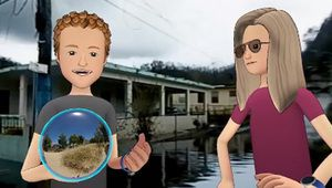Mark Zuckerberg choque en utilisant des images de Puerto Rico dévasté