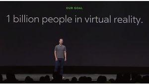 """Oculus Connect: toutes les annonces """"réalité virtuelle"""" de Facebook"""
