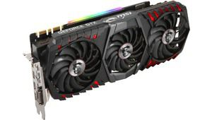 MSI GeForce GTX 1080 Ti Gaming X Trio: imposante et éclairée