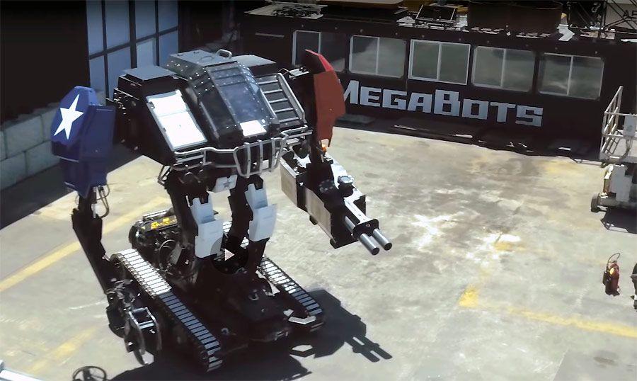 Combat de robots géants : MegaBots remporte la victoire