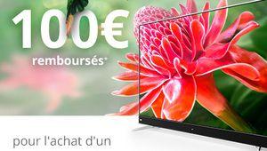 Bon plan – 100€ remboursés pour l'achat d'un téléviseur TCL U55C7006