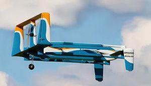 Amazon: des drones ravitailleurs pour voitures électriques