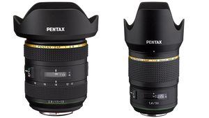 Deux nouvelles optiques Pentax Star: une 50/1,4 et une 11-18/2,8