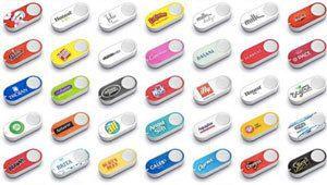 Amazon lance de nouveaux Dash Buttons