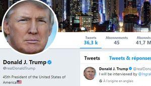 Donald Trump disparaît de Twitter pendant 11 minutes