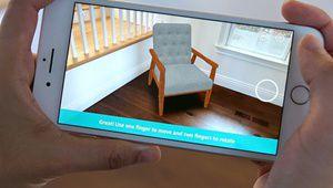 Amazon lance sa réalité augmentée sur iPhone