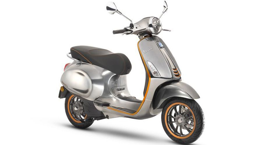 [MàJ] Le scooter électrique Vespa Elettrica entre en production