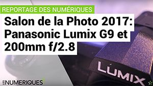 Salon de la photo – Découverte du Panasonic Lumix G9