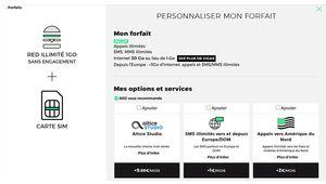 Bon plan – Le forfait RED illimité 30 Go à 10€ par mois