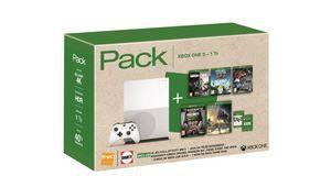 Bon plan – Xbox One S 1 To + 5 jeux + 6 mois de Xbox Live à 299€