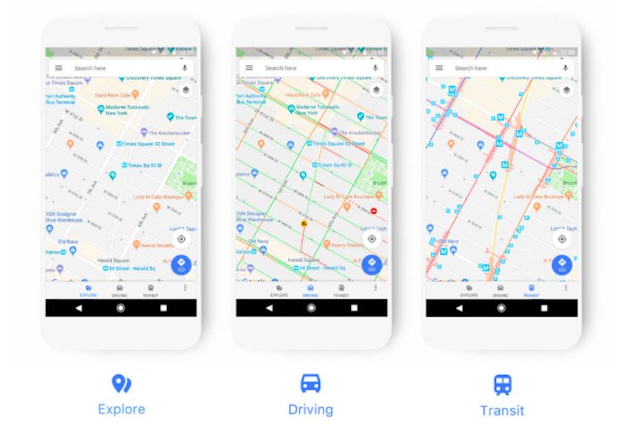 Google Maps se refait une beauté
