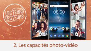 Lecteurs-testeurs Nokia 8: les capacités photo-vidéo