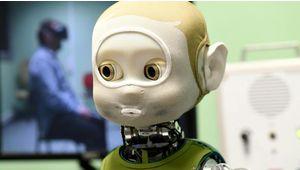 Nina, le robot qui s'exprime aussi avec les yeux
