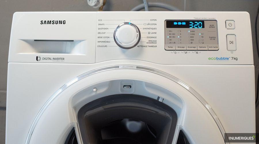 black friday le lave linge addwash ww70k5413ww ef moins de 400 les num riques. Black Bedroom Furniture Sets. Home Design Ideas