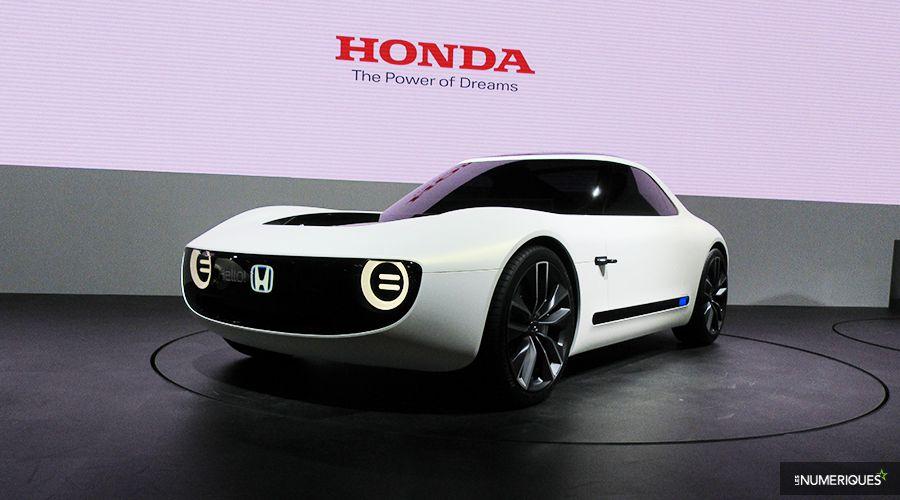 Honda: 15 minutes pour recharger ses voitures électriques