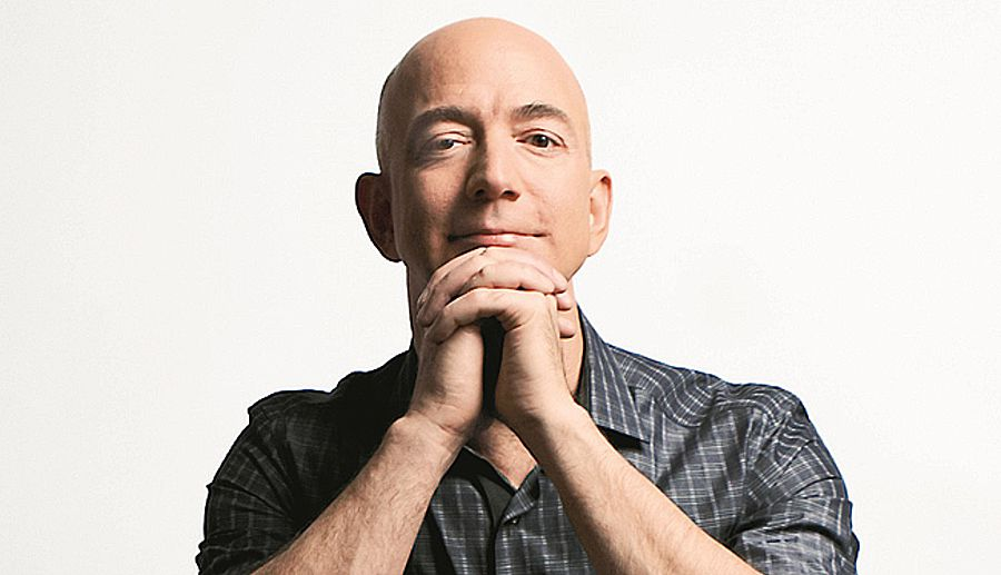 Jeff Bezos, le patron d'Amazon, franchit la barre des 100 milliards