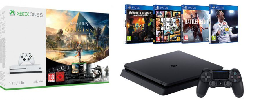 Xbox One S, PS4... Ce que cachent les super promos du Black Friday