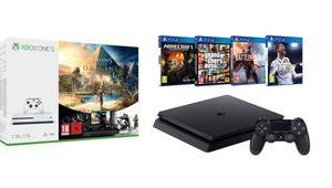 Xbox One S, PS4... Ce que cachent les super promos du Black Friday