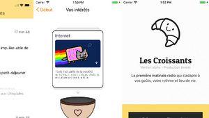 """Les Croissants: une """"matinale radio"""" intelligente, sur iOS et Android"""