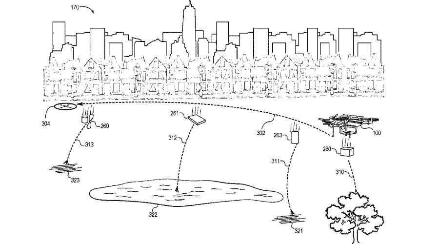 Amazon Prime Air Brevet Fragmentation Drone.jpg