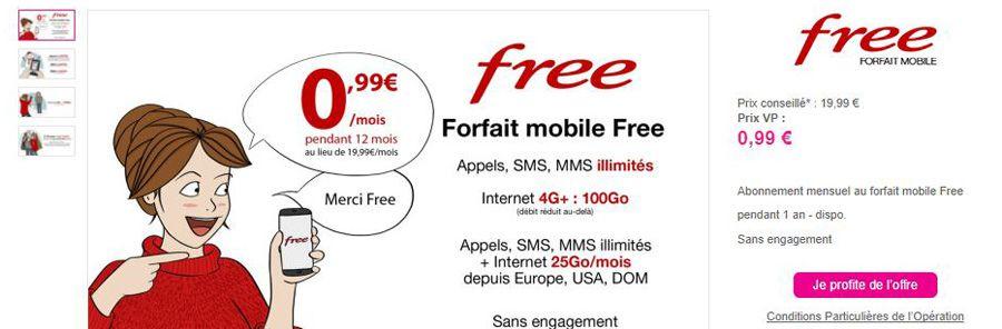 forfait mobile illimité