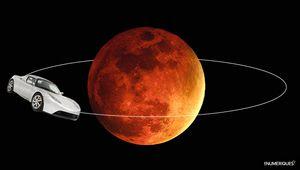 Space Xprévoit d'envoyer le Roadster de Tesla vers Mars
