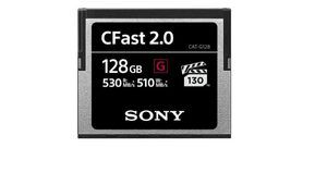 Compact Flash CFast 2.0 G : des cartes mémoire ultrarapides chez Sony