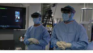 Un chirurgien français utilise HoloLens lors d'un acte chirurgical
